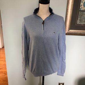 Mens Vineyard Vines 1/4 Zip Sweater
